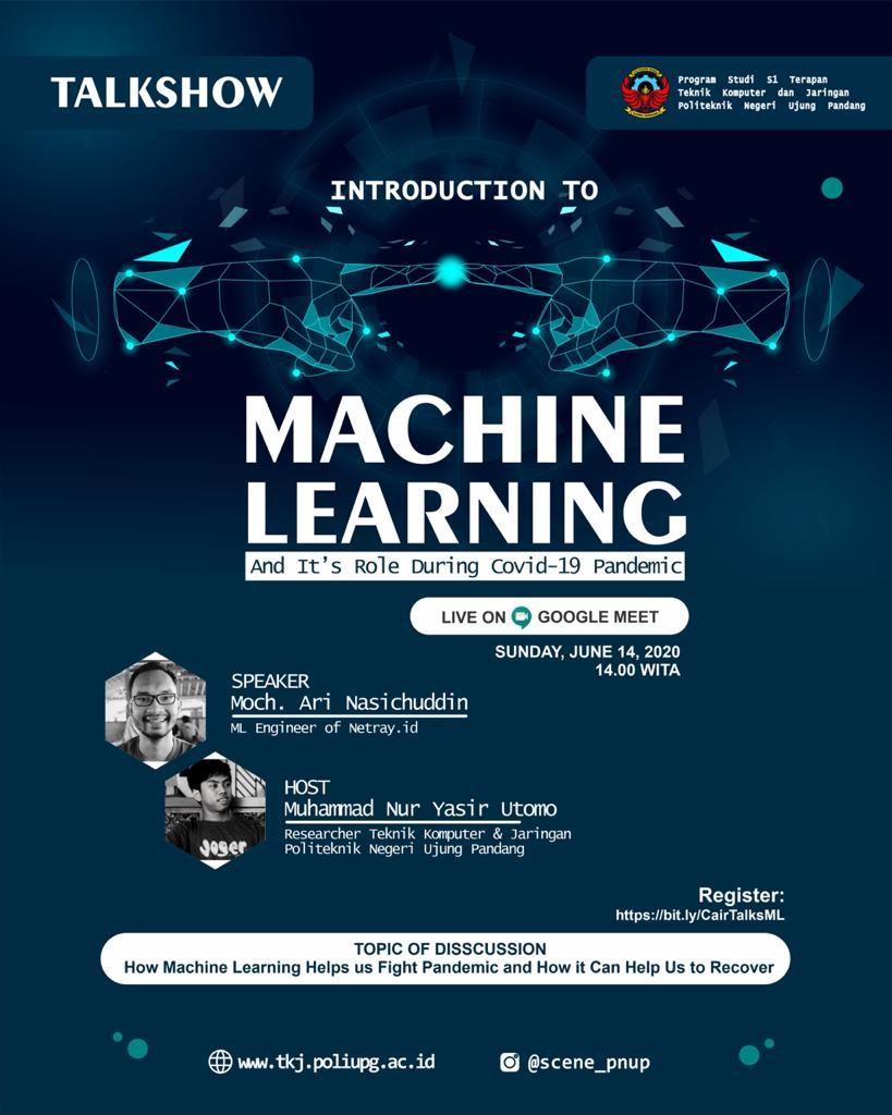 PS TKJ Gelar Webinar Tentang Peran Machine Learning Selama Pandemi Covid-19