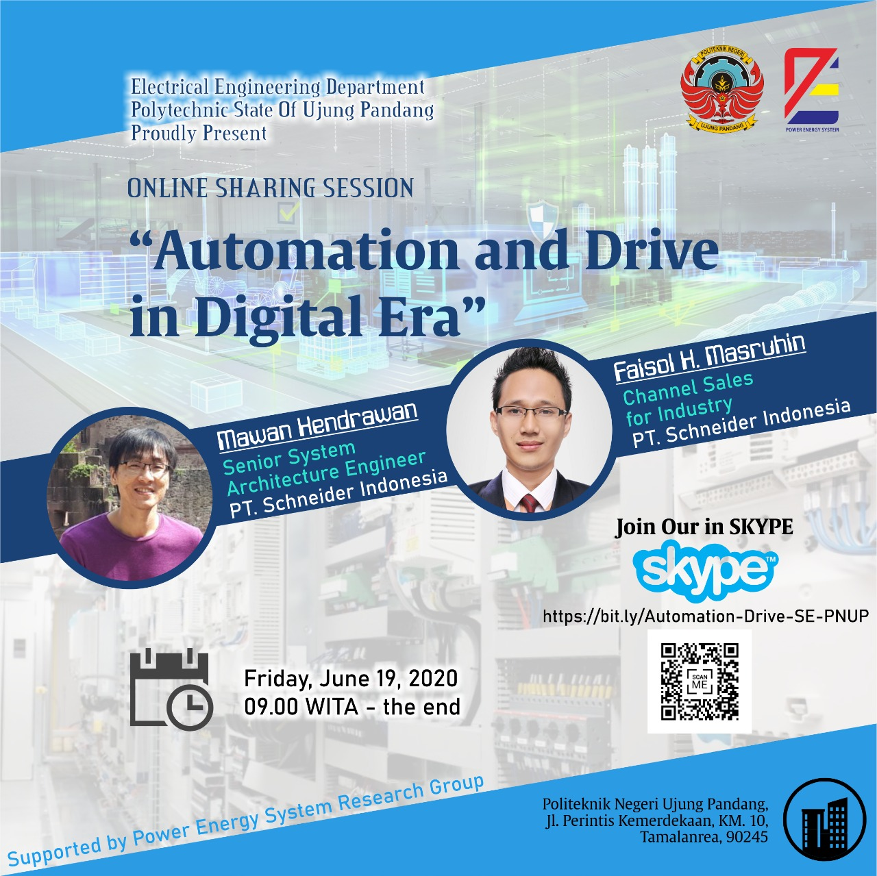 """Online Sharing  Session """"Automation and Drive in Digital Era"""""""